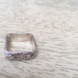 Jewelry - Vintage Sterling Square Ring